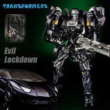Transformers Dark Version The Evil Lockdown Sports Car Deformation Toys New Box