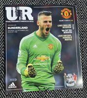 Manchester United v Sunderland 2015 Programme 26/9/15! FREE UK DELIVERY!LAST 1!!