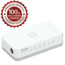 Netzwerk GIGABIT Switch 5 Port D-Link Network Ethernet Adapter Lan Dsl Hub Go-Sw