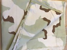 US ARMY UNIFORM CAMO FABRIC 3 COLOR DESERT CAMOUFLAGE CLOTH RIPSTOP 2 YARDS