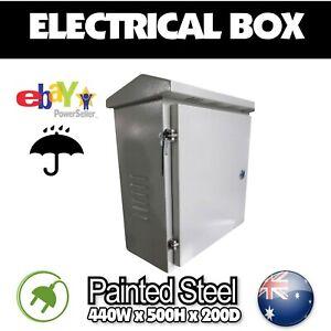 Electrical box alarm box outdoor communications box garden light box lock box