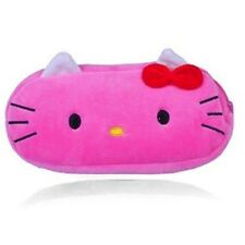 Astuccio Peluche Hello Kitty Rosa Scuro