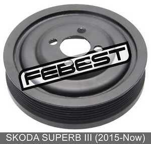Crankshaft Pulley Engine For Skoda Superb Iii (2015-Now)