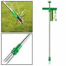 More details for amos weed puller weeder twister twist pull garden lawn root remover killer tool