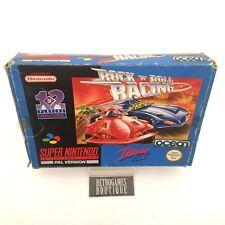 ROCK N ROLL RACING SNES Super Nintendo PAL Ukv Boxed