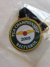 2005 PGA CHAMPIONSHIP GOLF Metal BAG TAG Phil Mickelson Baltusrol