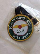 New listing 2005 PGA CHAMPIONSHIP GOLF Metal BAG TAG Phil Mickelson Baltusrol