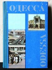 Soviet guide book Odessa Photo Odesa Russian tourist route map guidebook 1984