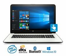 "HP 17-x031ds Laptop, Intel N3710 Quad-Core, 8GB, 17.3""Touchscreen Display Laptop"