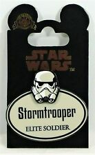 Disney Cast Exclusive Star Wars Stormtrooper 2017 Name Tag 3-D Pin NEW Not Sold