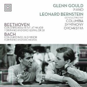 Glenn Gould - Plays Beethoven Concerto 2 & Bach Concerto 1 [New Vinyl