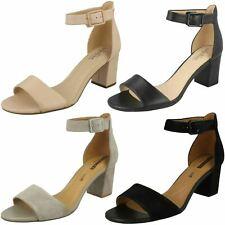 Clarks Deva Mae Ladies Heeled Sandal