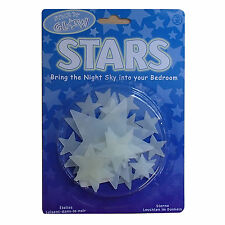 GLOW STARS glo in the dark 25 glowstars glostars