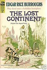 The Lost Continent by Edgar Rice Burroughs ACE F-235