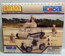 BEST LOCK MILITARY 220 PIECE CONSTRUCTION SET BL70205