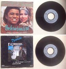 Jermaine Jackson & Pia Zadora Disque 45T vinyl 2 titres When the rain begins to