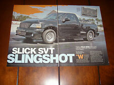1999 FORD SVT LIGHTNING TWIN TURBO 8 SECOND 1/4 MILE  - ORIGINAL 2009 ARTICLE