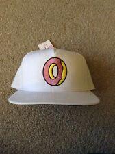 Odd Future Single Donut Snapback (White/Pink) OFWGKTA Golf Wang Hat Cap NEW