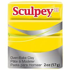 SCULPEY III - Polymer Clay - 57g - YELLOW
