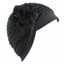 CH Women Flower Indian Stretch Turban Hat Chemo Cap Hair Loss Scarf Headwrap