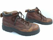 DOCKERS - Men's Red/Brown Distressed Leather Boot - Size 10M  90-6672