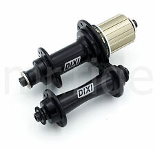 Dixi road bike bicycle CNC hubs set 20/24H for Shimano 11 Speed Black