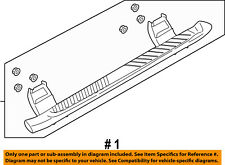 FORD OEM 15-16 F-150-Running Board Step FL3Z16450CB