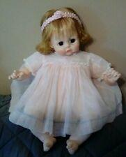Madame Alexander baby doll vintage w/ dress. Refreshed