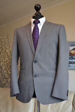NEW HARRY BROWN Black Label Suit Blazer Jacket Sports coat Mens Sz 40R - GREY