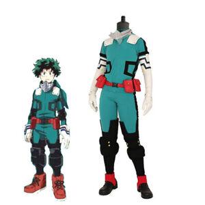 My Hero Academia Izuku Midoriya Cosplay costume Deku Battle Costume Outfit