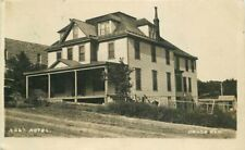Hotel #2267 1910 Onaga Kansas Zercher RPPC Photo Postcard 20-6847