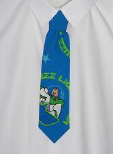 Boys Blue Buzz Lightyear (Toy Story) Tie - Pre-tied elasticated