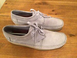Clarks Originals, Weaver, Light blue Suede, Size 11 UK
