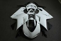 Fairing Kit for Ducati 848 1098 1198 2007-2012 Unpainted ABS Injection Bodywork