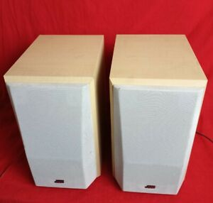 JVC SP-UXV100 Pair of 2 Bookshelf Speakers Wired Tested Works