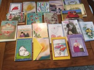 LOT OF 85 ANNIVERSARY CARDS & ENVELOPES BY LEANIN' TREE  RETAIL OVER $240