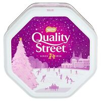 Brand New Nestle Quality Street Chocolate Large Tin,1.2Kg Christmas Gift for All