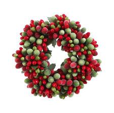 "Raz Imports 4"" Beaded Berry Candle Ring (3710117)"