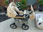 Canopy+Roan+Kortina+Classic+2-in-1+Pram+Stroller+with+Bassinet+NEW+Never+Used