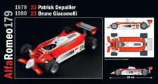Alfa Romeo 179 179C #22 23 Andretti Depailler Giacomelli KIT ITALERI 1:12 IT4704