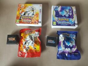 NEW Pokemon Sun and Moon Fan Edition with Official Figure & Pin Badges Rare 3DS