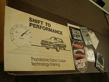 OEM Ford 1984 Thunderbird Turbo Coupe Dealer's Announcement Kit Display