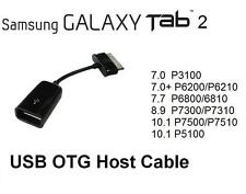 New 30 Pin to Female USB Adapter OTG Cable for Samsung Galaxy Tab 2 10.1 Tablet