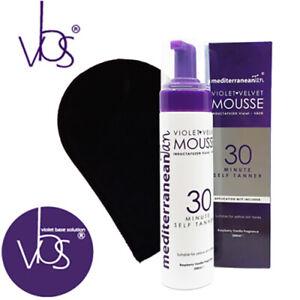 Violet Velvet Mousse - VBS® - 30 Minute Self Tanner (FREE Tanning Mitt) - 200ml