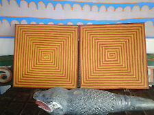 Authentic Aboriginal Art- JOHN JEBYDAH - PAIR OF WORKS - 2005