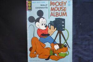Mickey Mouse Album 1  (B7) 1963 Gold Key Comics  Good Cond