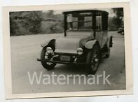 Vintage B/W photo car automobile 1920 Rauch and Lang Electric