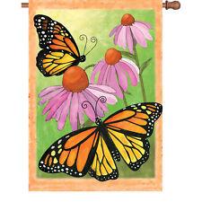 Monarch Summer Butterfies House Flag PR 52308