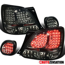 For 98-05 Lexus GS300 400 430 Smoke LED Rear Tail Lights+Trunk Lamps 4PC