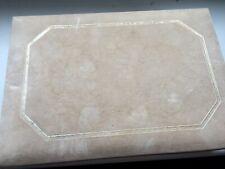 Beige Suede/velvet jewellery box